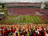 University of Arkansas: Calling the Hogs in Razorback Stadium