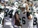New York Jets - Sept 9  2012: Mark Sanchez  Stephen Hill
