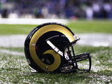 St Louis Rams - Dec 12  2011: St Louis Rams Helmet