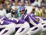 Minnesota Vikings - Sept 9  2012: Christian Ponder