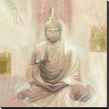 Buddha II Tableau sur toile par Elvira Amrhein
