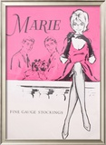 Marie Fine Gauge Stockings