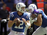Indianapolis Colts - Sept 16  2012: Andrew Luck