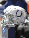 Indianapolis Colts - Sept 23  2012: Indianapolis Colts Helmet