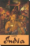 Ajanta  India  c1959