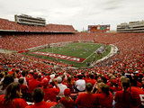 University of Wisconsin: Wisconsin: Badgers Play in Camp Randall Stadium
