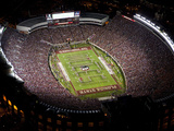 Florida State University: the Band Spells Noles on the Field at Doak Campbell Stadium