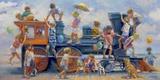 Joyride Impression sur toile par Lucelle Raad