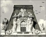 Louvre Impression sur toile par Judy Mandolf