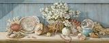 Collection de coquillagesI Impression sur toile par Janet Kruskamp