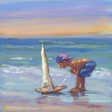 Marin Impression sur toile par Lucelle Raad