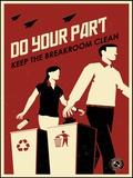 Clean Breakroom