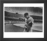 Baseball Player Mickey Mantle after Striking Out