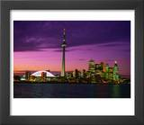 Toronto Skyline at Night  Canada