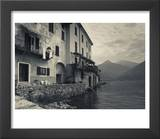 Lombardy  Lakes Region  Lake Como  Santa Maria Rezzonico  Lakeside Houses  Italy