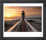 Brant Point Lighthouse  Nantucket Island  Massachusetts  USA