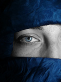 Blue Tuareg Eye