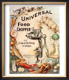 Food Choppers Mincers the Universal Cooking Appliances Gadgets  USA  1890