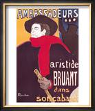 Poster Advertising Aristide Bruant in His Cabaret at the Ambassadeurs  1892