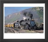 Steam Locomotive  Durango  Colorado