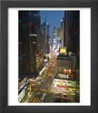 Broadway Looking Towards Times Square  Manhattan  New York City  USA