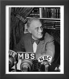 President Franklin D Roosevelt Speaking on Pre Invasion Fireside Chat Radio Program