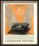 Underwood Portable Typewriters Equipment  USA  1922
