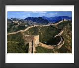 Landscape of Great Wall  Jinshanling  China
