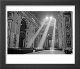 Sunbeams Inside St Peter&#39;s Basilica