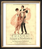 Erasmic Soap Perfume  Evening-Dress Dancing  UK  1920