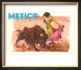 Bullfight Poster  Mexico