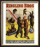 Ringling Bros  Poster  1900