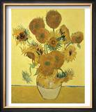 Vase of Fifteen Sunflowers  c1888