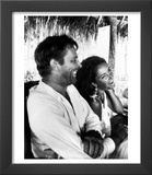 Richard Burton and Elizabeth Taylor on Location