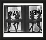 Ballerinas Standing on Window Sill in Rehearsal Room  George Balanchine's School of American Ballet