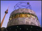 Universal Clock  Alexanderplatz  Berlin  Germany
