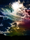 Rainbow Clouds Mars 2120