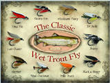 The Classic Wet Trout Fly