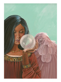 Crystal Ball Angel