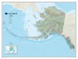 National Geographic - Alaska Map Laminated Poster