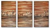 The Waterfront Triptych Art