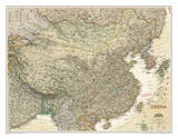 National Geographic - China Executive Map Laminated Poster