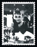 Movie Stamp II Reproduction d'art par The Vintage Collection