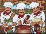 3 Happy Chefs