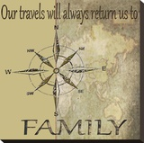 Travels Lead Back to Family
