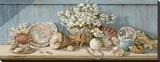 Collection de coquillagesI Tableau sur toile par Janet Kruskamp