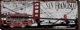San Franciso Trolley Tableau sur toile par Karen J. Williams