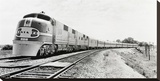 Santa Fe Super Chief Train  1938 (detail)