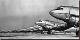 Fleet of Passenger Transport Planes  1936 (detail)