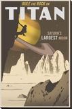 Rock Climbing on Titan